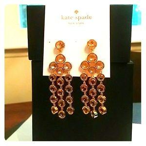 Kate Spade | Subtle Sparkle | Chandelier earrings